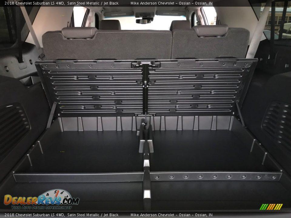 2018 Chevrolet Suburban LS 4WD Satin Steel Metallic / Jet Black Photo #19