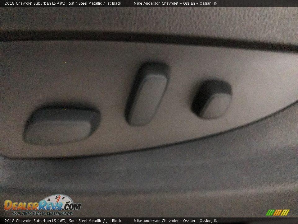 2018 Chevrolet Suburban LS 4WD Satin Steel Metallic / Jet Black Photo #24