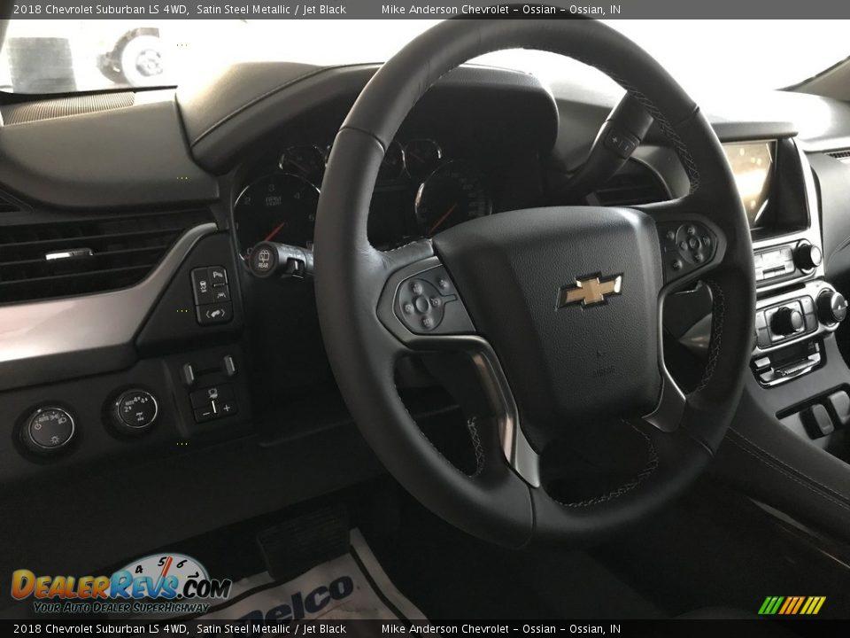 2018 Chevrolet Suburban LS 4WD Satin Steel Metallic / Jet Black Photo #25