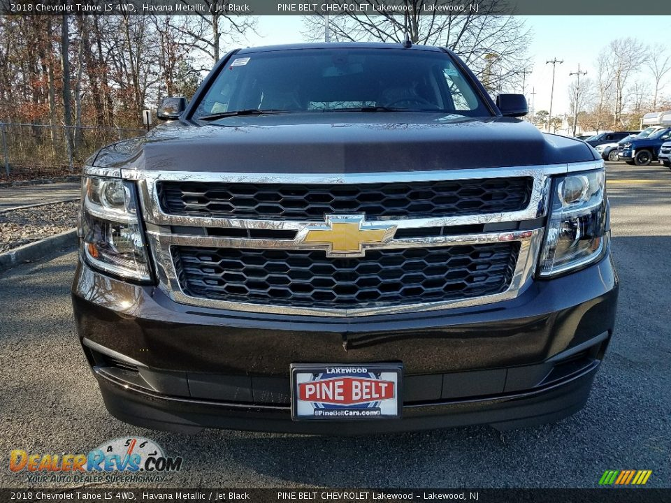 2018 Chevrolet Tahoe LS 4WD Havana Metallic / Jet Black Photo #2