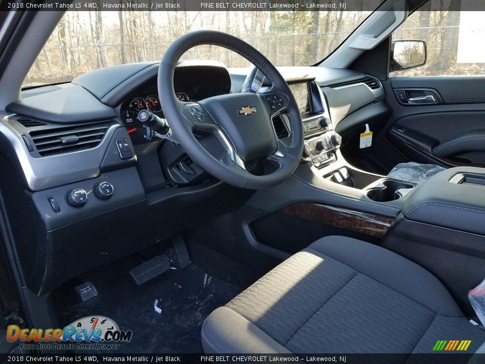 2018 Chevrolet Tahoe LS 4WD Havana Metallic / Jet Black Photo #7