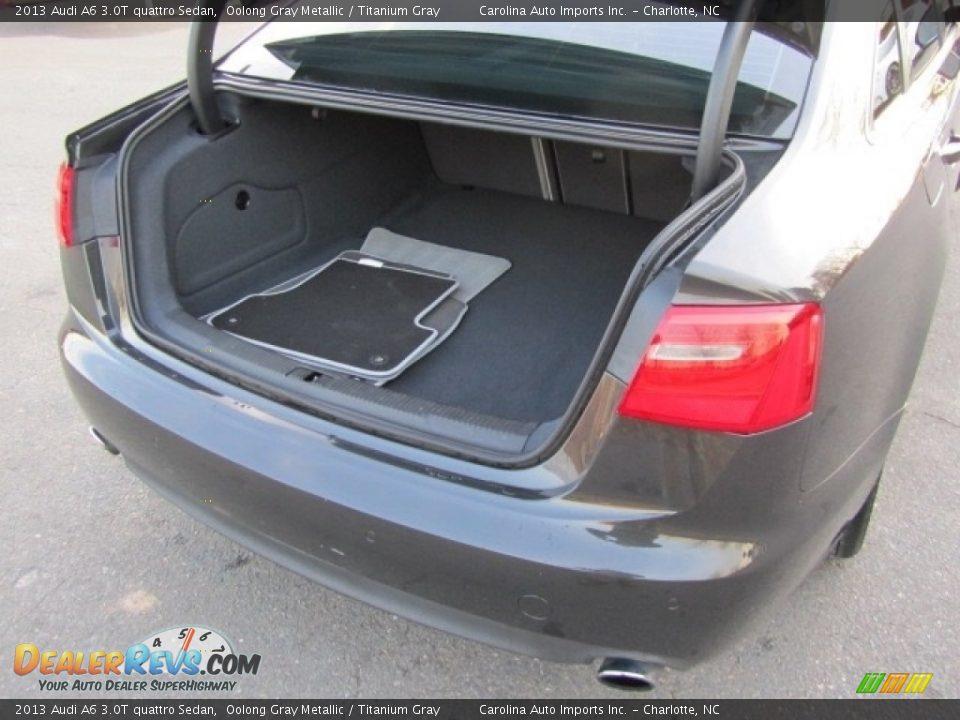 2013 Audi A6 3.0T quattro Sedan Oolong Gray Metallic / Titanium Gray Photo #21