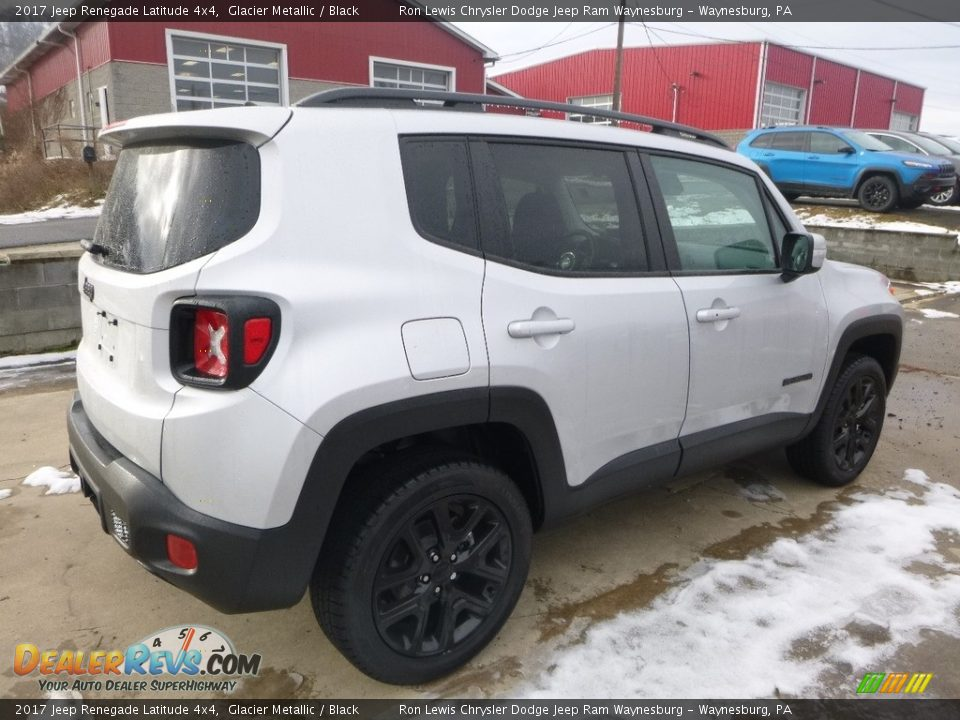 2017 Jeep Renegade Latitude 4x4 Glacier Metallic / Black Photo #5