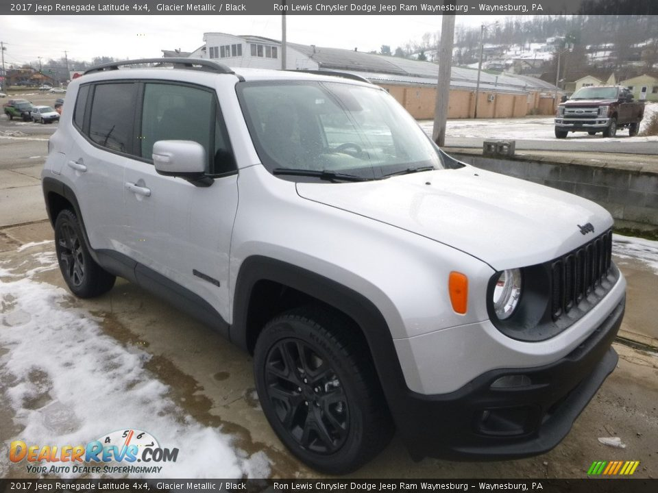 2017 Jeep Renegade Latitude 4x4 Glacier Metallic / Black Photo #7