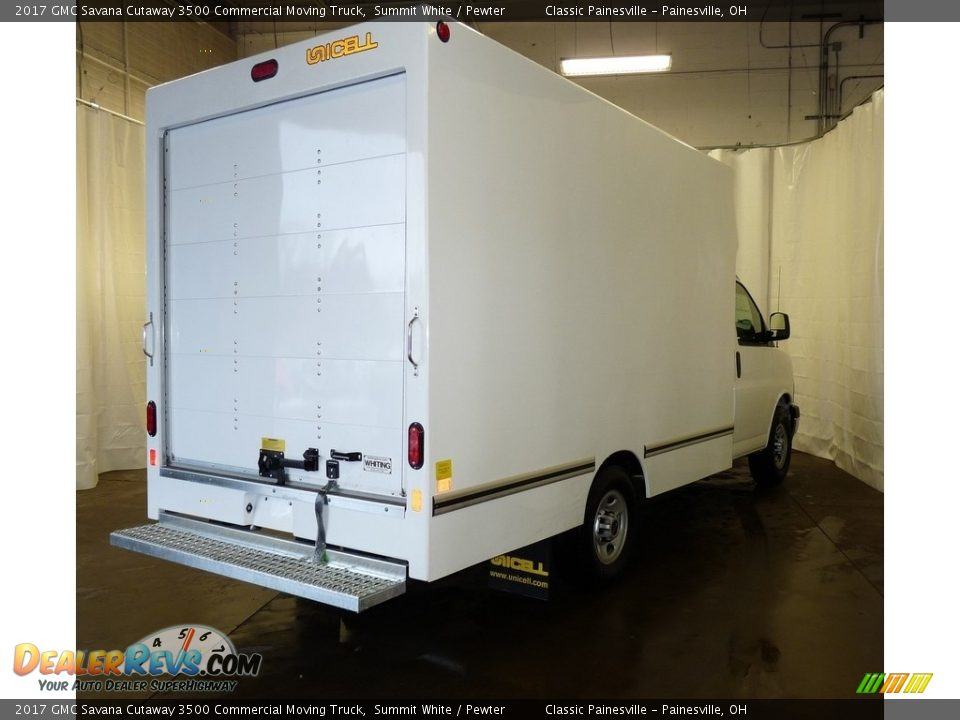 2017 GMC Savana Cutaway 3500 Commercial Moving Truck Summit White / Pewter Photo #2
