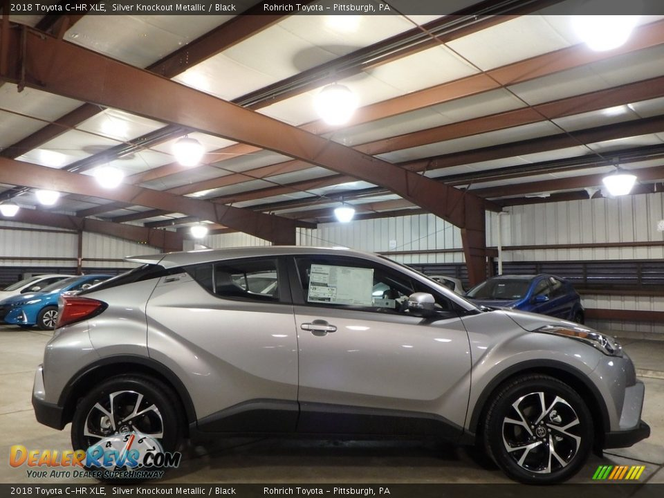 Silver Knockout Metallic 2018 Toyota C-HR XLE Photo #2