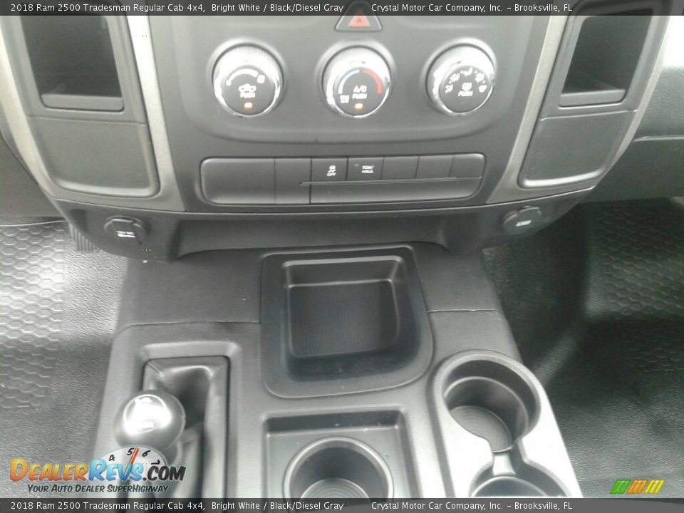 2018 Ram 2500 Tradesman Regular Cab 4x4 Bright White / Black/Diesel Gray Photo #15