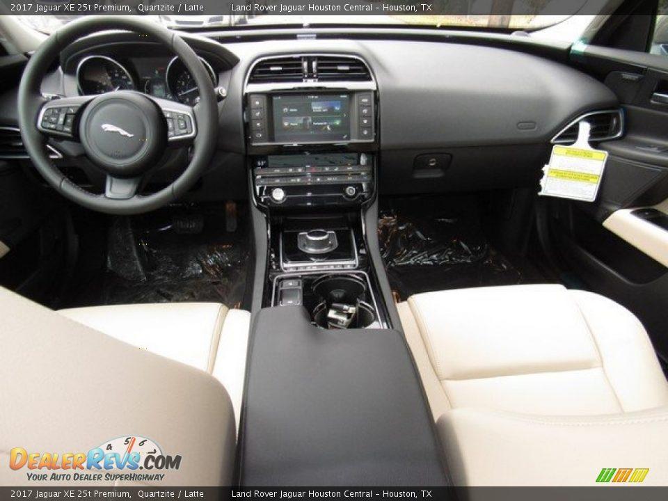 2017 Jaguar XE 25t Premium Quartzite / Latte Photo #4