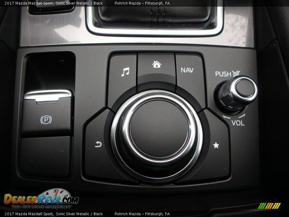 2017 Mazda Mazda6 Sport Sonic Silver Metallic / Black Photo #12