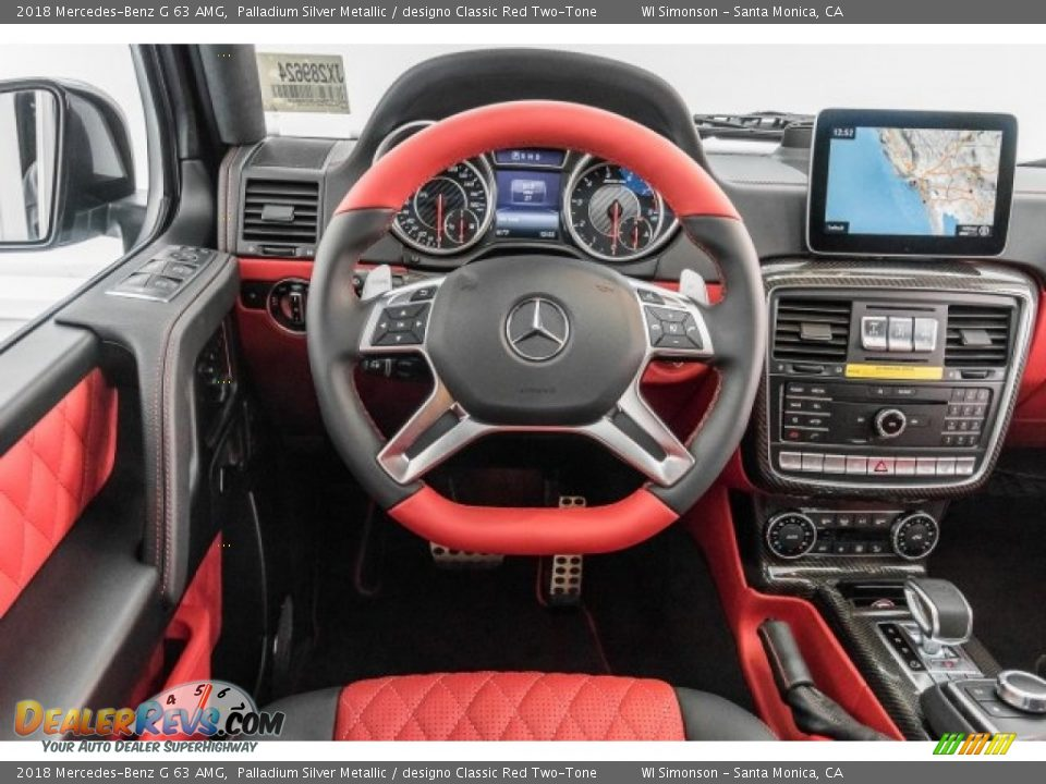 2018 Mercedes-Benz G 63 AMG Steering Wheel Photo #4