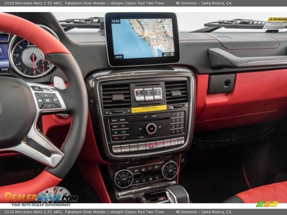 Controls of 2018 Mercedes-Benz G 63 AMG Photo #5