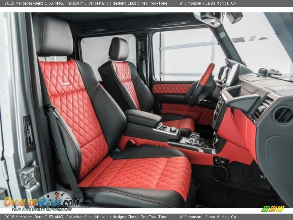 Front Seat of 2018 Mercedes-Benz G 63 AMG Photo #6