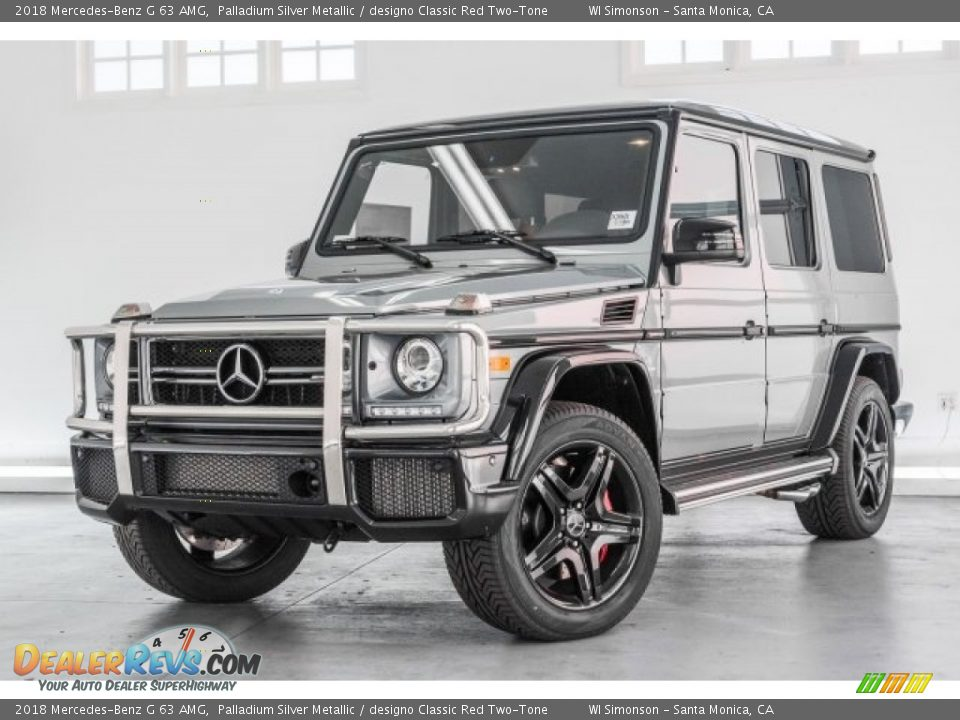 Palladium Silver Metallic 2018 Mercedes-Benz G 63 AMG Photo #17