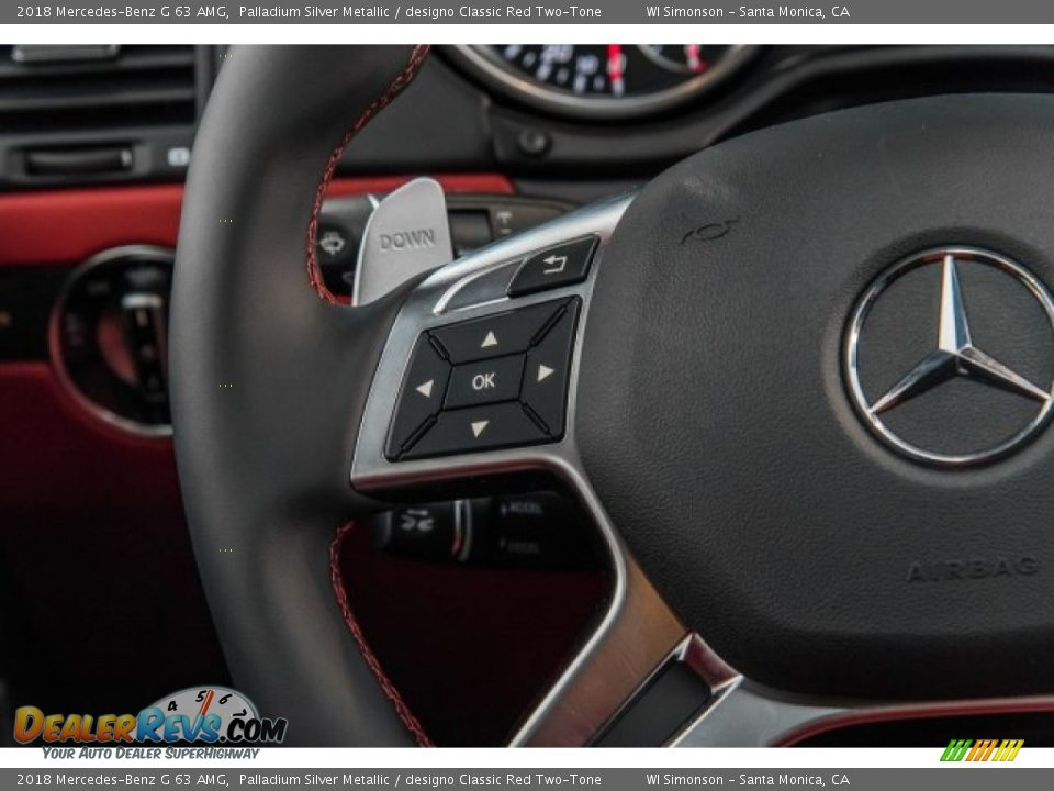 Controls of 2018 Mercedes-Benz G 63 AMG Photo #21