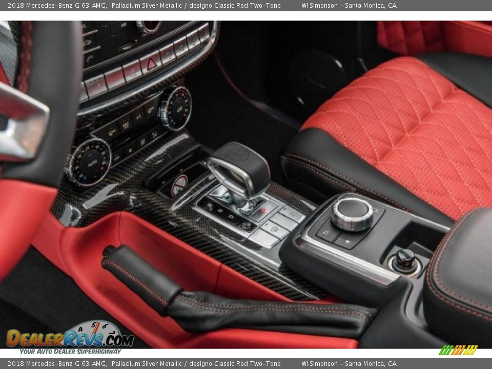 2018 Mercedes-Benz G 63 AMG Shifter Photo #25