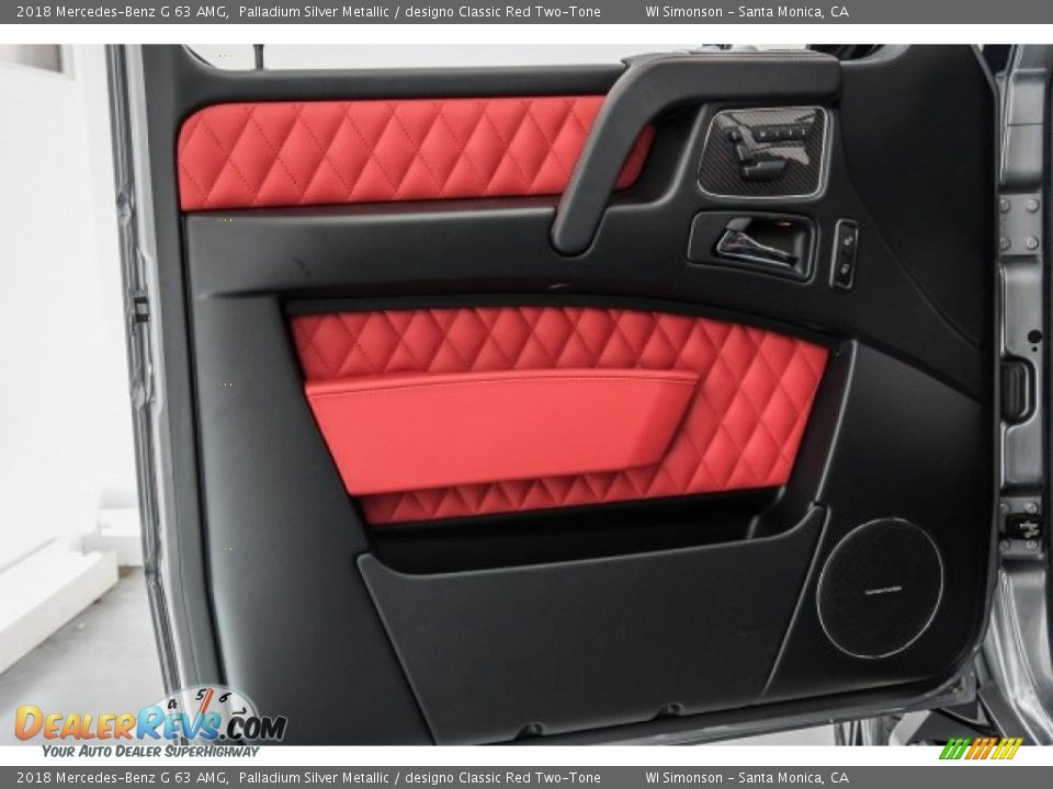 Door Panel of 2018 Mercedes-Benz G 63 AMG Photo #29