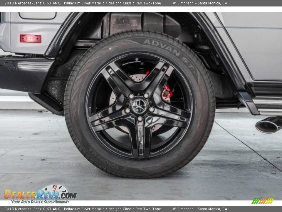 2018 Mercedes-Benz G 63 AMG Wheel Photo #33