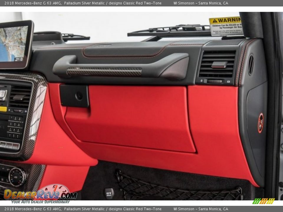 Dashboard of 2018 Mercedes-Benz G 63 AMG Photo #35