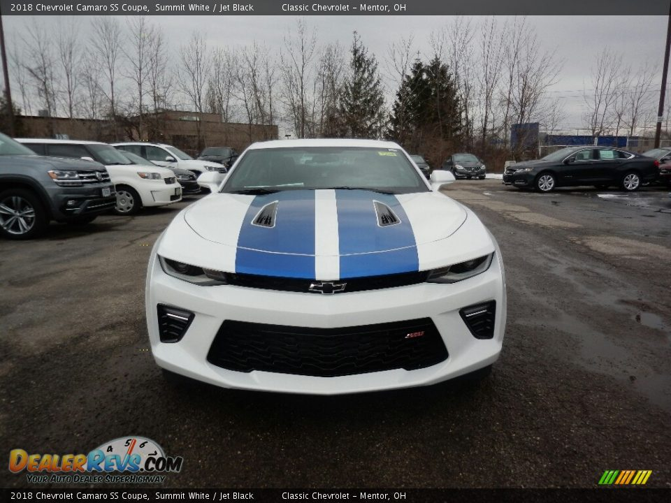 2018 Chevrolet Camaro SS Coupe Summit White / Jet Black Photo #2