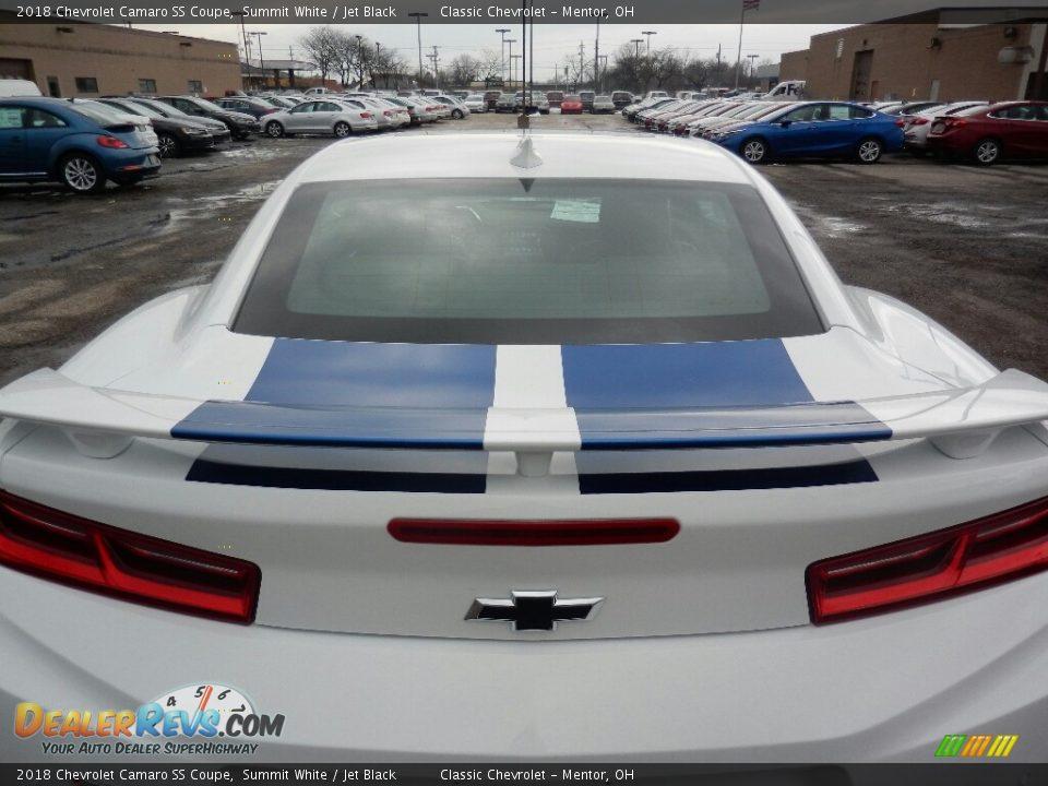 2018 Chevrolet Camaro SS Coupe Summit White / Jet Black Photo #7
