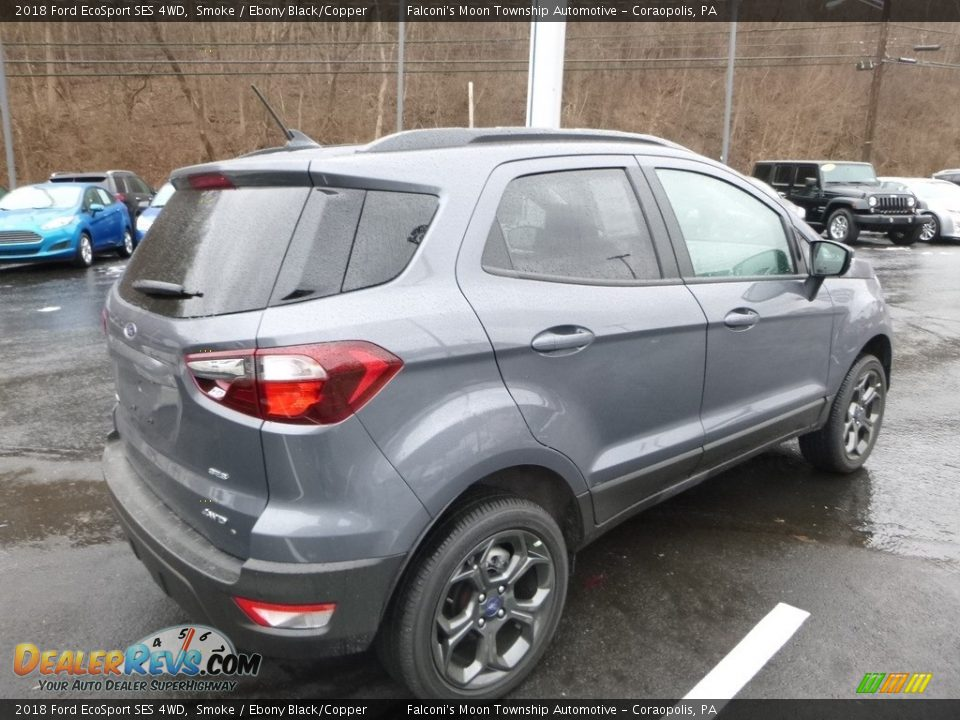 2018 Ford EcoSport SES 4WD Smoke / Ebony Black/Copper Photo #2