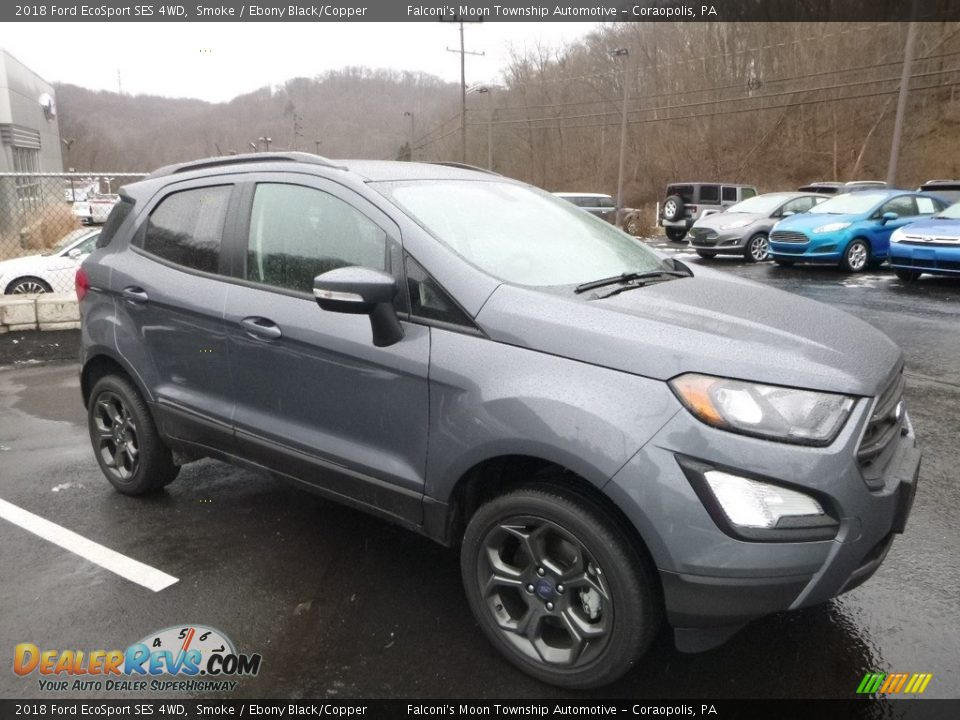 Front 3/4 View of 2018 Ford EcoSport SES 4WD Photo #3