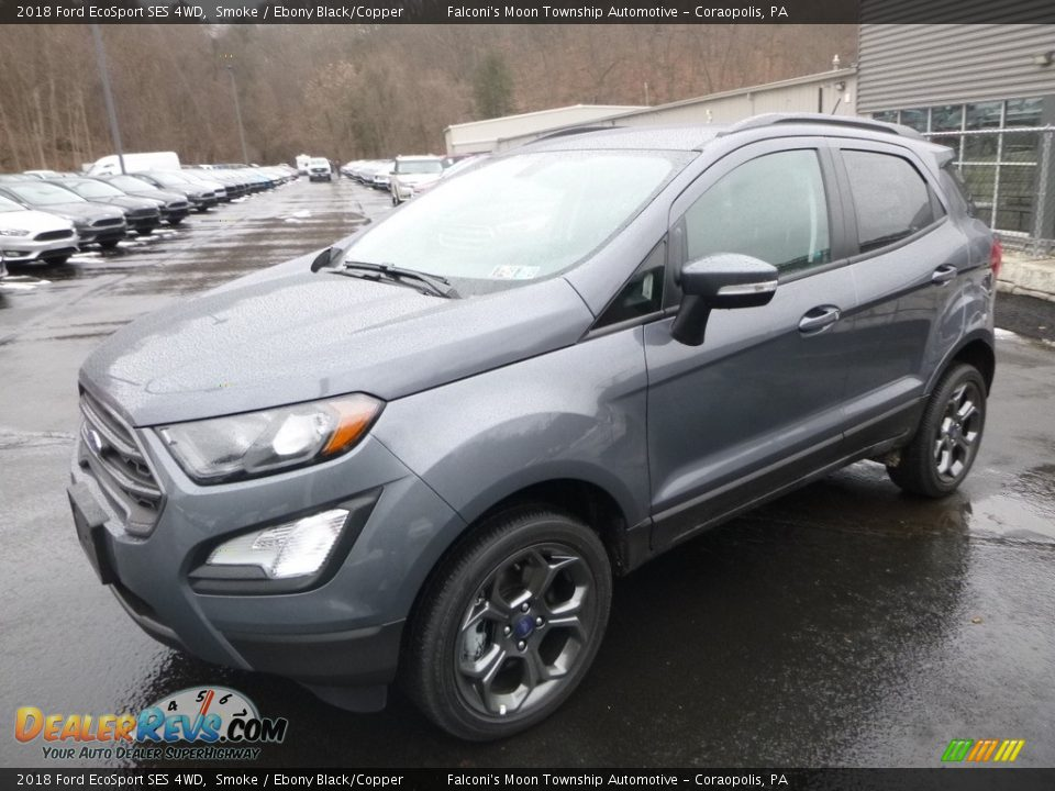 Front 3/4 View of 2018 Ford EcoSport SES 4WD Photo #5
