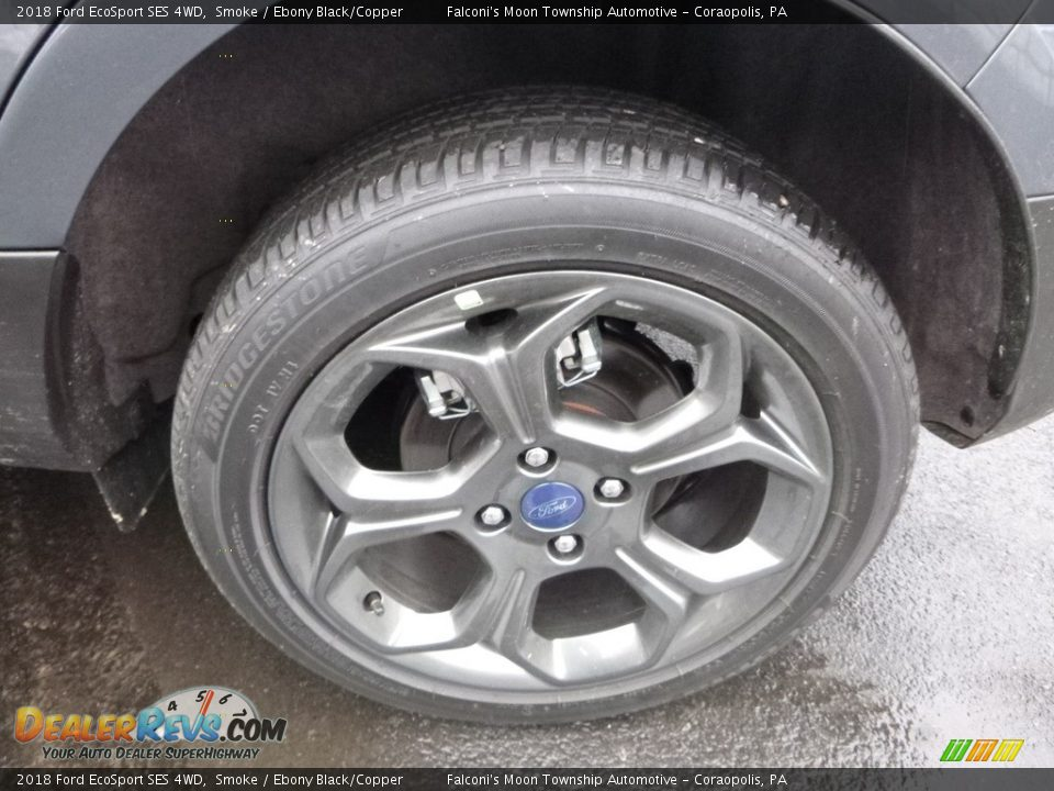 2018 Ford EcoSport SES 4WD Wheel Photo #6