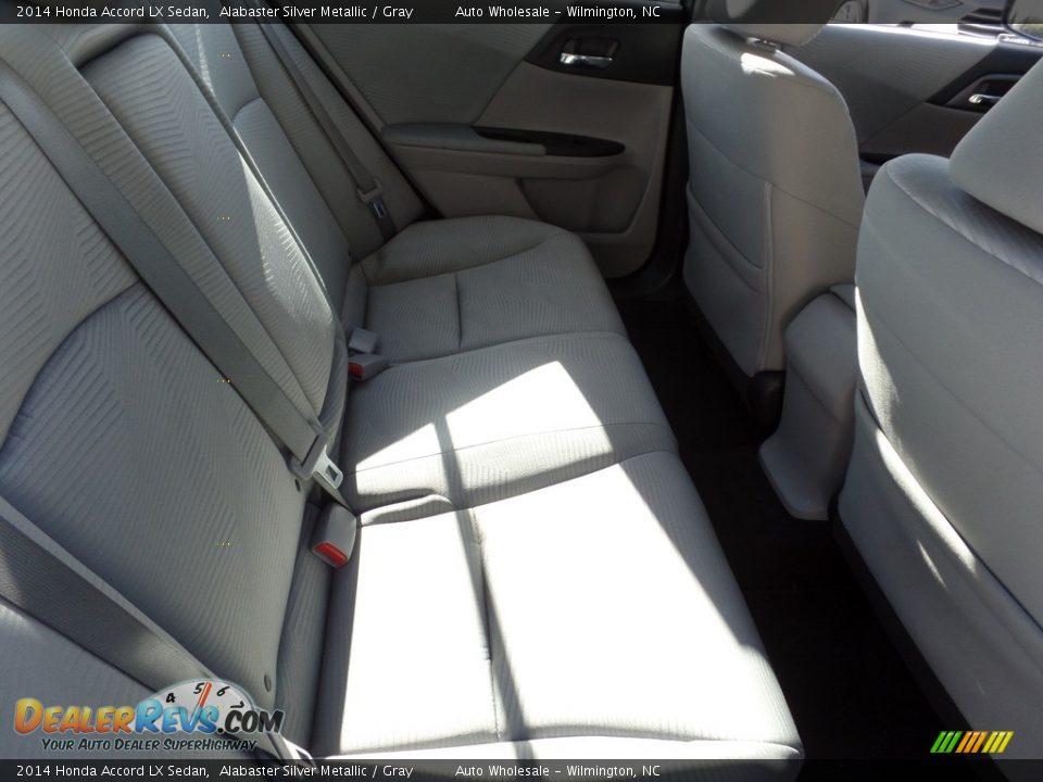 2014 Honda Accord LX Sedan Alabaster Silver Metallic / Gray Photo #14