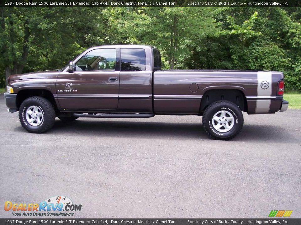 1997 dodge ram 1500 laramie slt extended cab 4x4 dark chestnut metallic camel tan photo 6. Black Bedroom Furniture Sets. Home Design Ideas