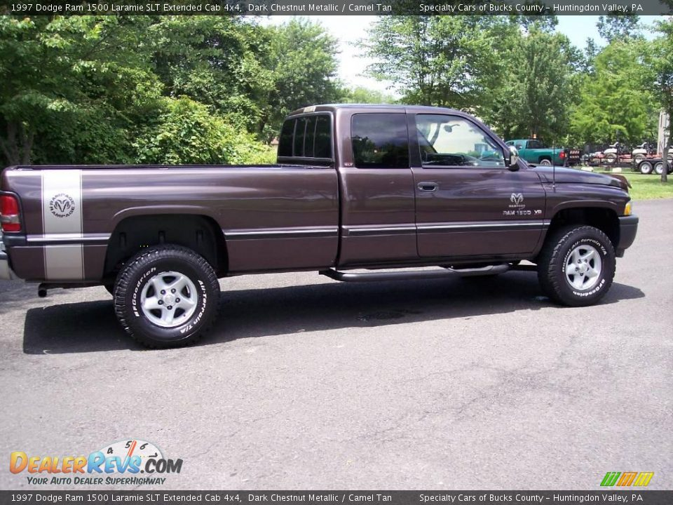 1997 dodge ram 1500 laramie slt extended cab 4x4 dark chestnut metallic camel tan photo 16. Black Bedroom Furniture Sets. Home Design Ideas