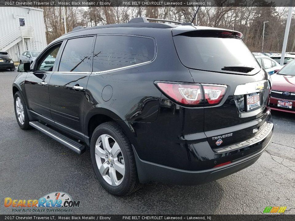 2017 Chevrolet Traverse LT Mosaic Black Metallic / Ebony Photo #4