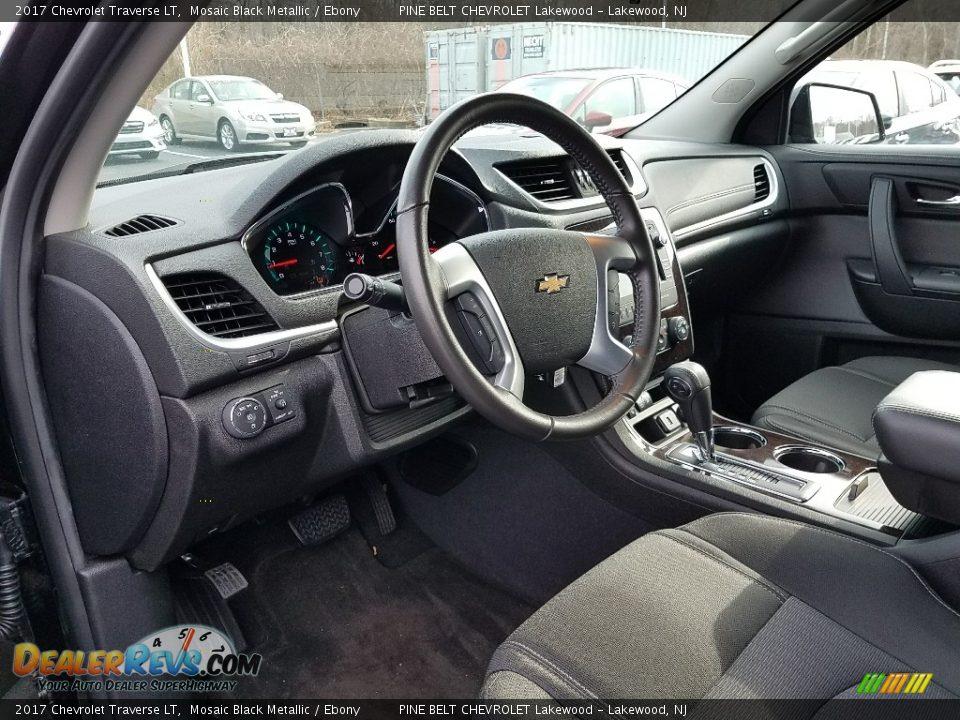 2017 Chevrolet Traverse LT Mosaic Black Metallic / Ebony Photo #7