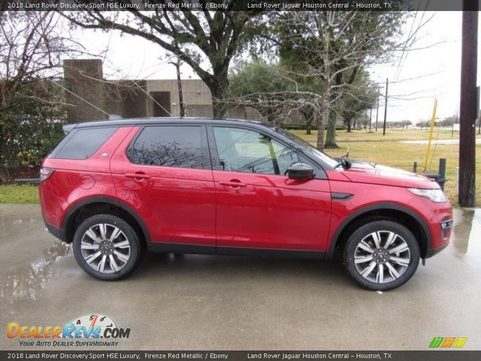 2018 Land Rover Discovery Sport HSE Luxury Firenze Red Metallic / Ebony Photo #6