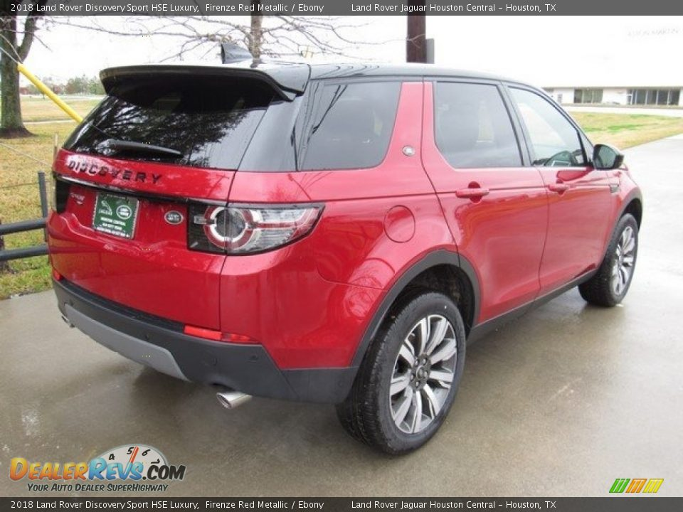 2018 Land Rover Discovery Sport HSE Luxury Firenze Red Metallic / Ebony Photo #7