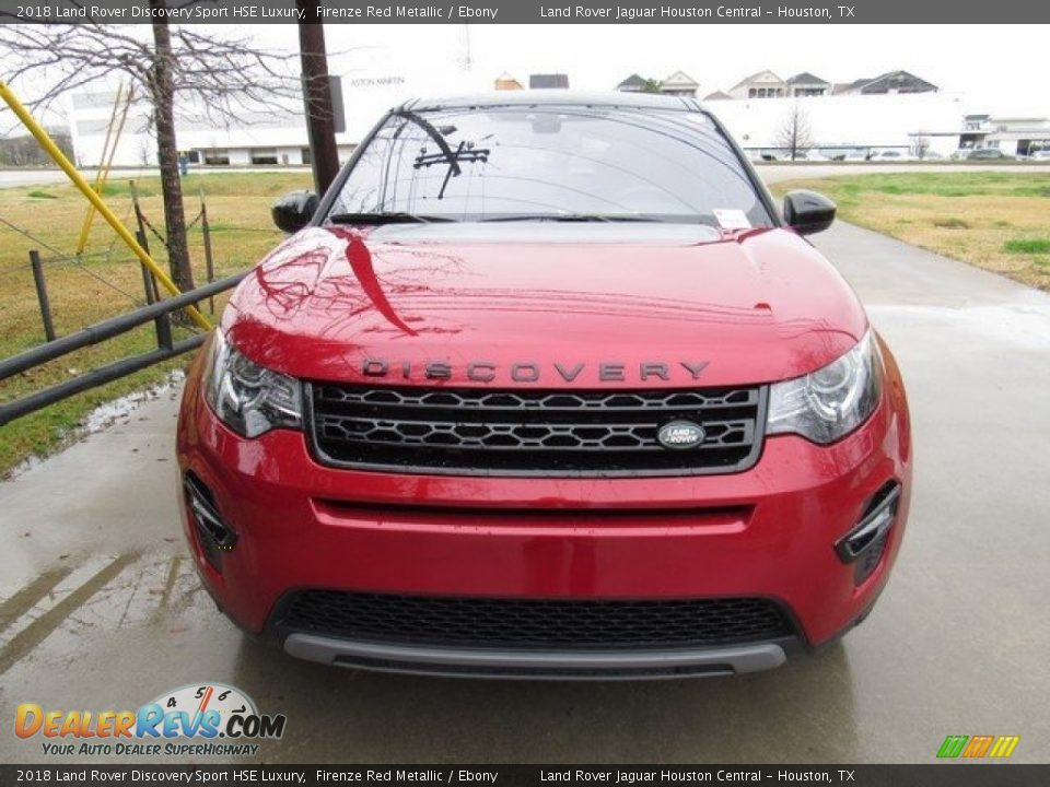 2018 Land Rover Discovery Sport HSE Luxury Firenze Red Metallic / Ebony Photo #9