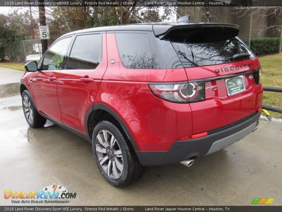 2018 Land Rover Discovery Sport HSE Luxury Firenze Red Metallic / Ebony Photo #12