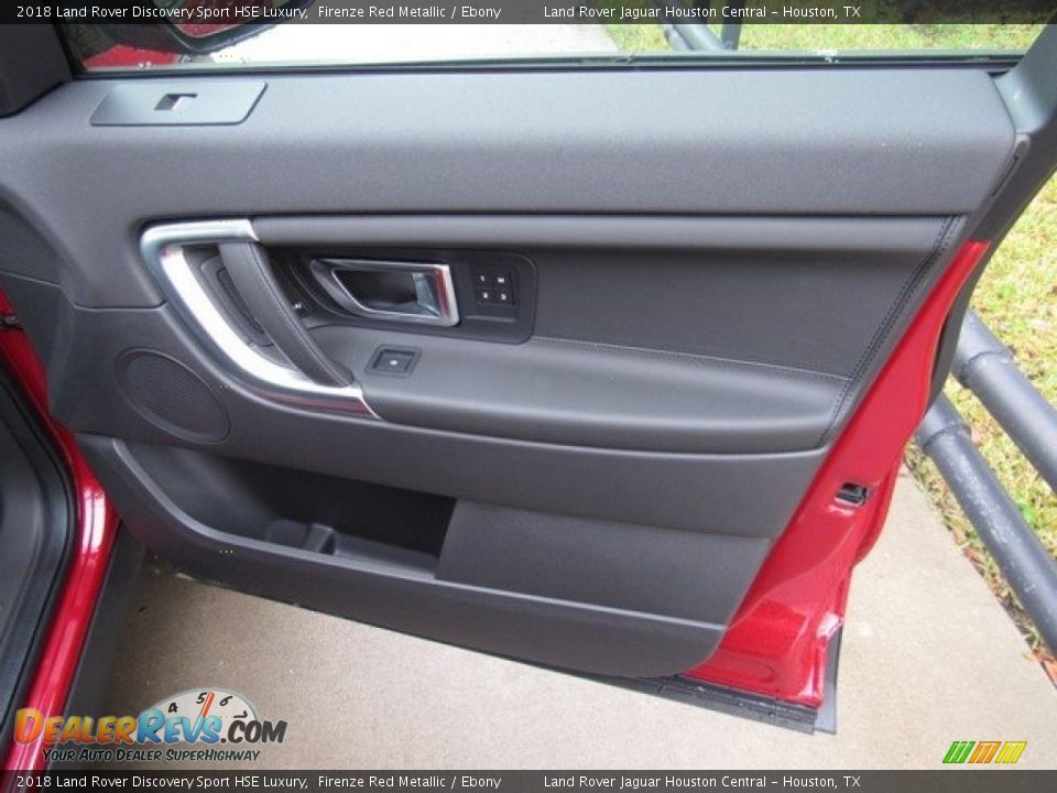 2018 Land Rover Discovery Sport HSE Luxury Firenze Red Metallic / Ebony Photo #21