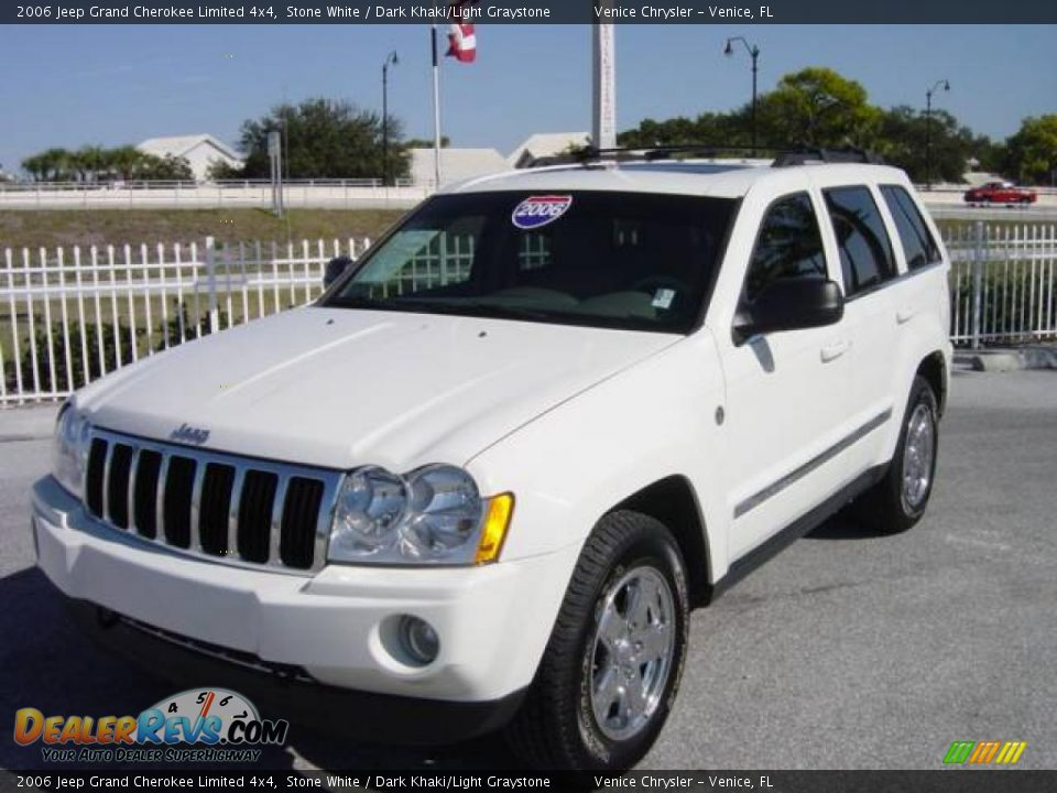 2006 Jeep Grand Cherokee Limited 4x4 Stone White Dark