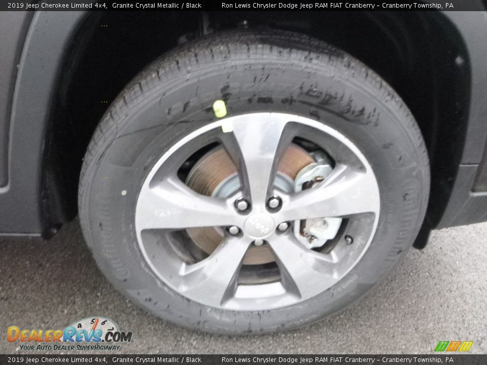 2019 Jeep Cherokee Limited 4x4 Granite Crystal Metallic / Black Photo #9