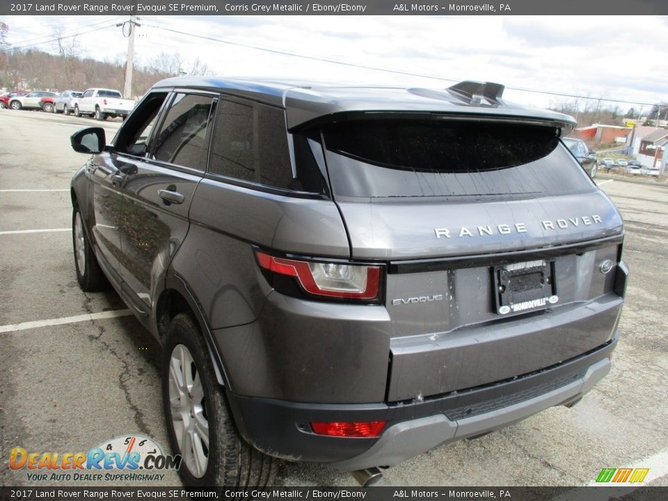 2017 Land Rover Range Rover Evoque SE Premium Corris Grey Metallic / Ebony/Ebony Photo #2