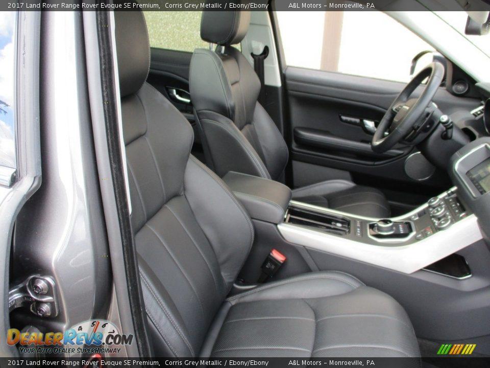 2017 Land Rover Range Rover Evoque SE Premium Corris Grey Metallic / Ebony/Ebony Photo #3