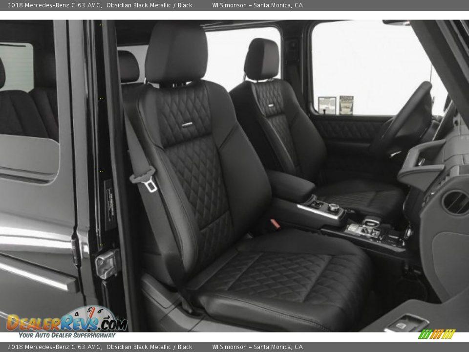 2018 Mercedes-Benz G 63 AMG Obsidian Black Metallic / Black Photo #6