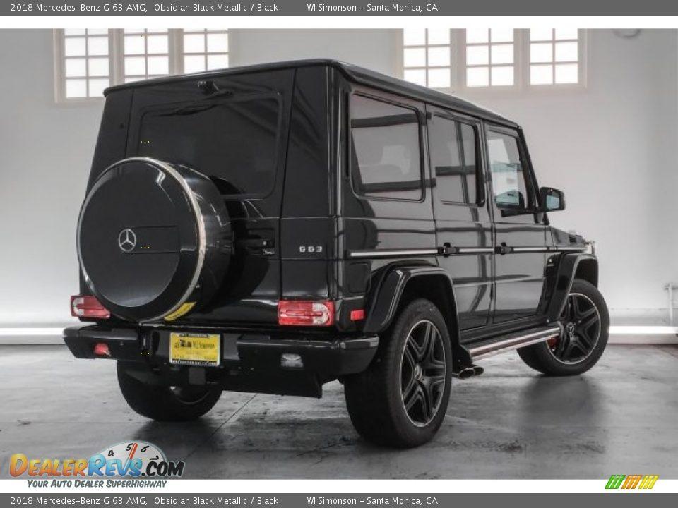 2018 Mercedes-Benz G 63 AMG Obsidian Black Metallic / Black Photo #14