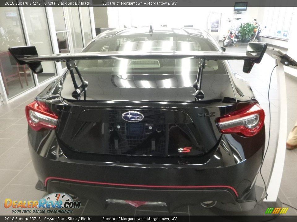 2018 Subaru BRZ tS Crystal Black Silica / Black Photo #3