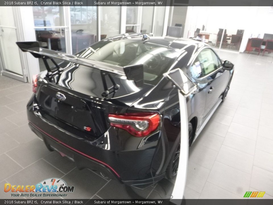 2018 Subaru BRZ tS Crystal Black Silica / Black Photo #4