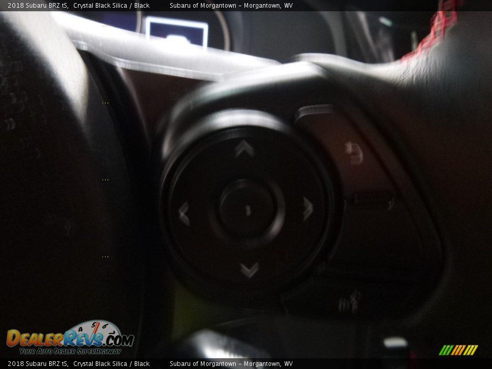 2018 Subaru BRZ tS Crystal Black Silica / Black Photo #19