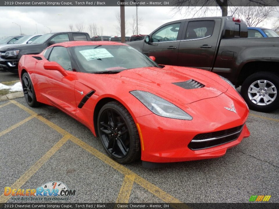 Torch Red 2019 Chevrolet Corvette Stingray Coupe Photo #3