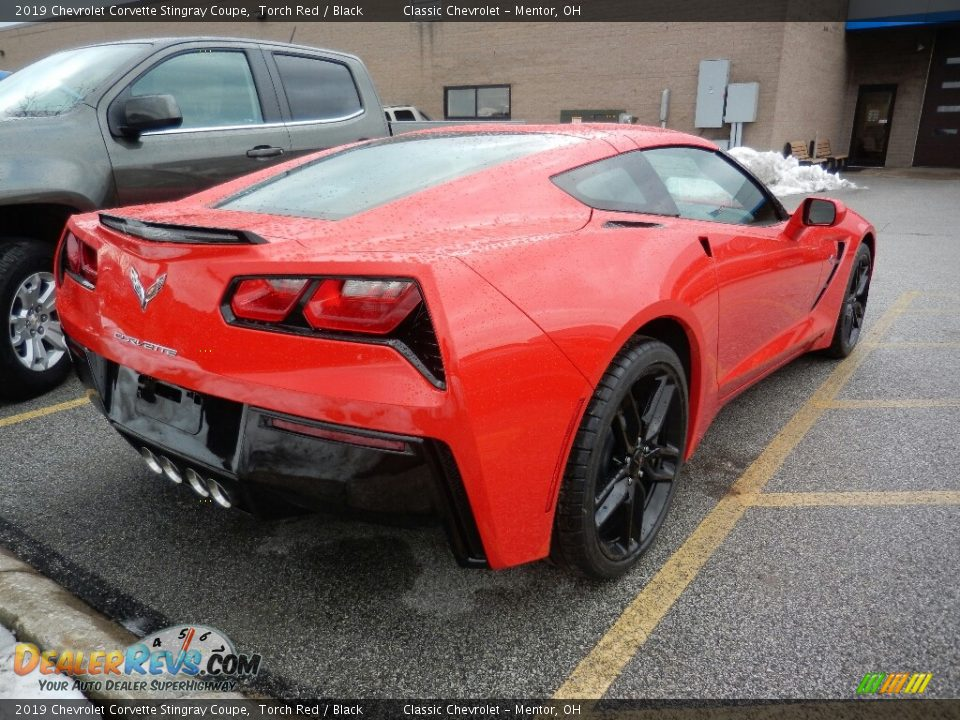 2019 Chevrolet Corvette Stingray Coupe Torch Red / Black Photo #4