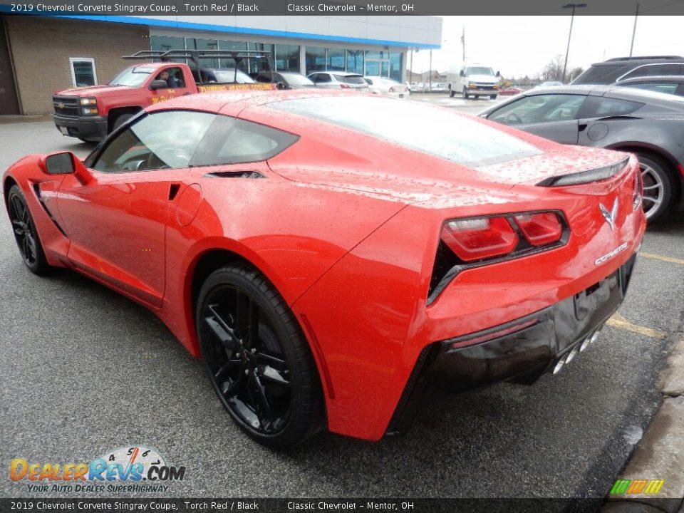 2019 Chevrolet Corvette Stingray Coupe Torch Red / Black Photo #5